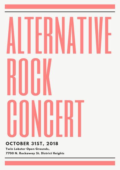 Customize 48+ Concert Program templates online - Canva