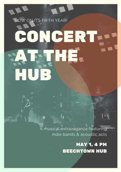 Customize 119+ Concert Poster templates online - Canva