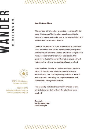 Customize 102+ Business Letterhead templates online - Canva