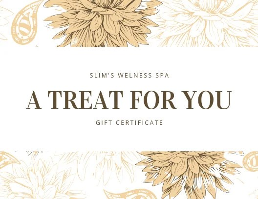 Customize 89+ Spa Gift Certificate templates online - Canva