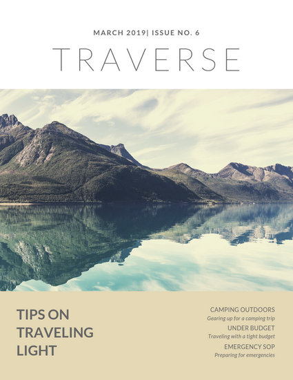 Customize 156+ Travel Magazine Cover templates online - Canva