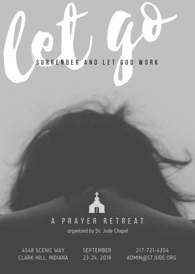 Prayer Retreat Church Flyer - Templates by Canva