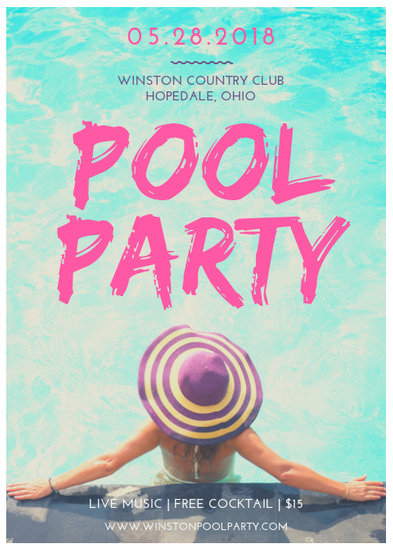Customize 174+ Party Flyer templates online - Canva