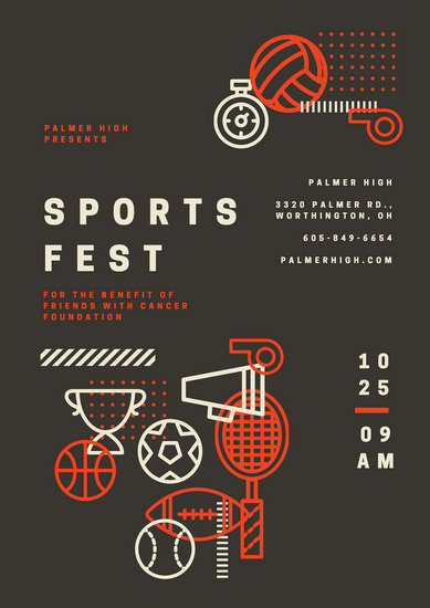 Customize 209+ Sports Poster templates online - Canva