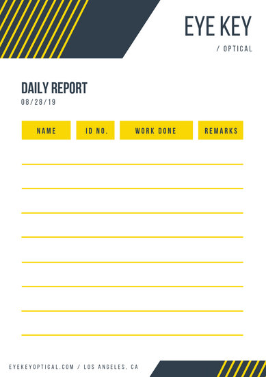 Customize 20+ Daily Report templates online - Canva