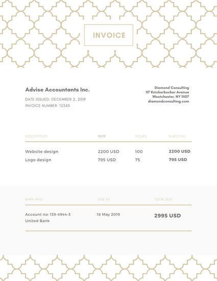 Customize 178+ Invoice templates online - Canva