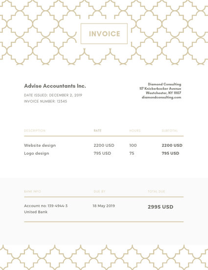 Customize 178+ Invoice templates online - Canva