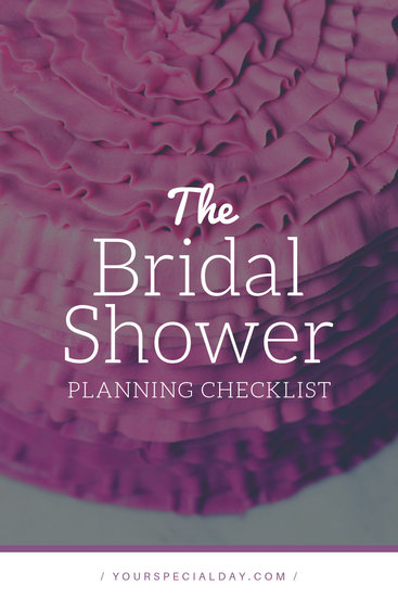 Bridal Shower Planning Checklist Blog Graphic - Templates by Canva
