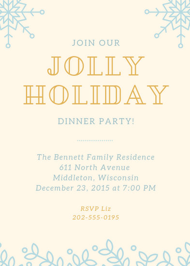 Christmas Party Invitation - Templates by Canva