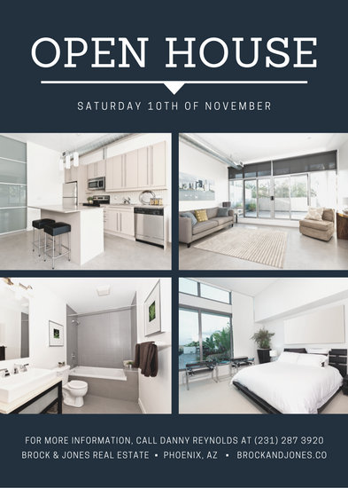 house for sale brochure templates