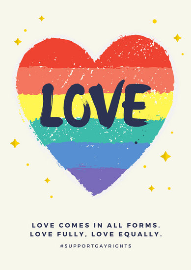 Customize 142+ Gay Rights Poster templates online - Canva