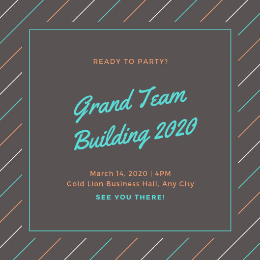Customize 2,684+ Company Event Invitation templates online - Canva