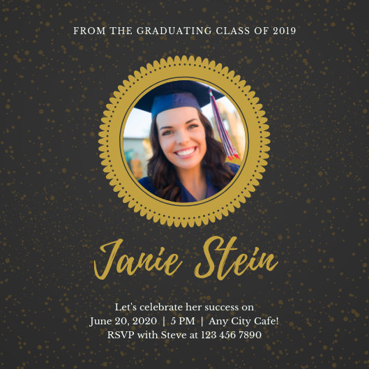 Customize 66+ Graduation Invitation templates online - Canva