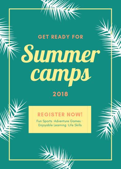Customize 76+ Summer Camp Flyer templates online - Canva