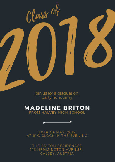 Customize 66+ Graduation Invitation templates online - Canva