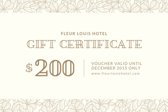 Customize 1,960+ Gift Certificate templates online - Canva