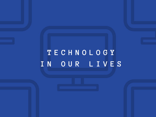 Blue Evolution of Telephones Technology Presentation - Templates by
