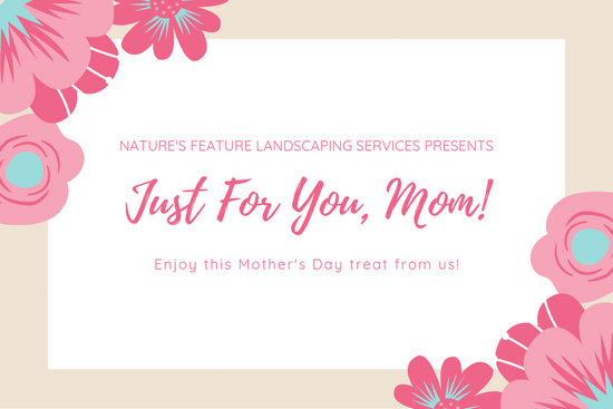 Pink White Floral Mother\u0027s Day Gift Certificate - Templates by Canva