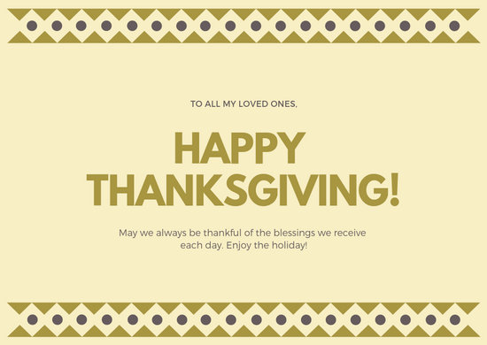 Customize 62+ Thanksgiving Card templates online - Canva