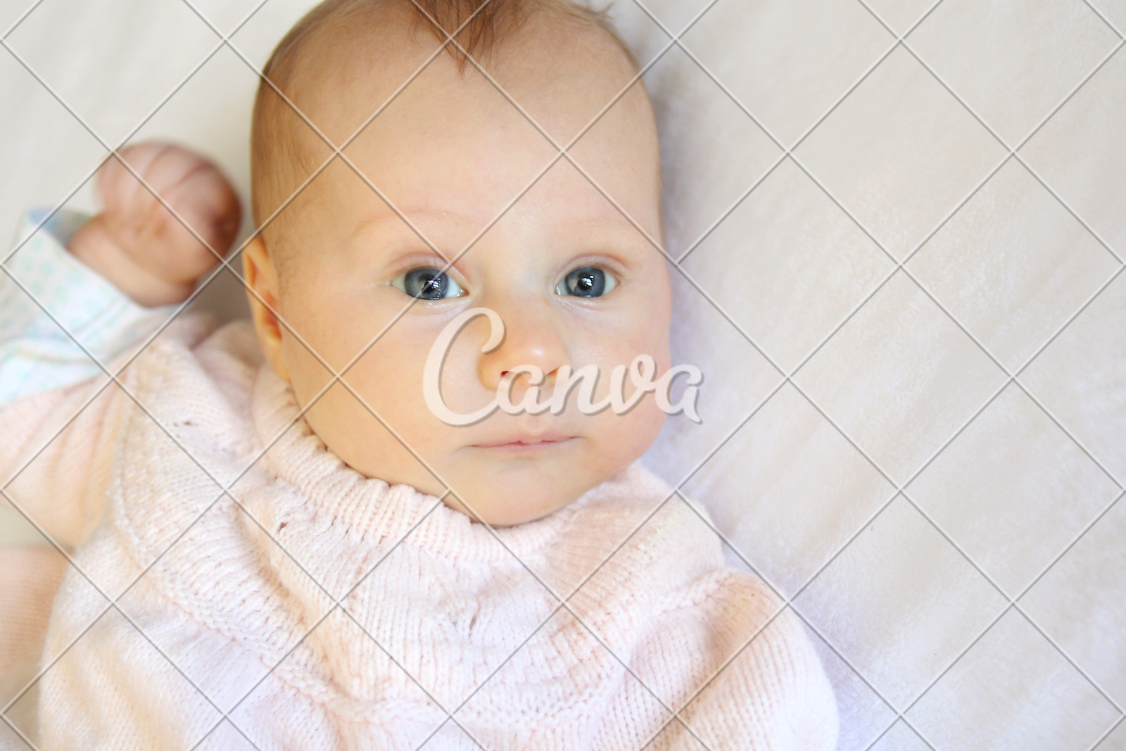 Newborn Babies With Blue Eyes Sweet Newborn Baby Girl With Bright Blue Eyes Photos By Canva