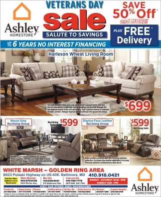 Ashley Furniture Pre Black Friday Sales Veterans Day Sale Ashley Homestore Baltimore Md
