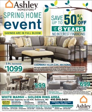 Ashley Furniture Pre Black Friday Sales Spring Home Event Ashley Homestore Capitol Heights Md