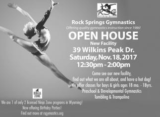 Open House, Rock Springs Gymnastics