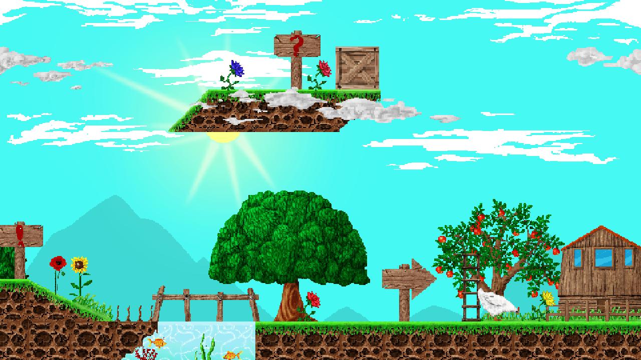 How To Set Animated Wallpaper Village Platformer Pixel Set By Hordana Gamemaker