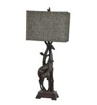 "Giraffe Table Lamp Africa Safari Jungle Animal 32.5""H"
