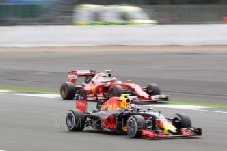 FP2 at the 2016 British Grand Prix