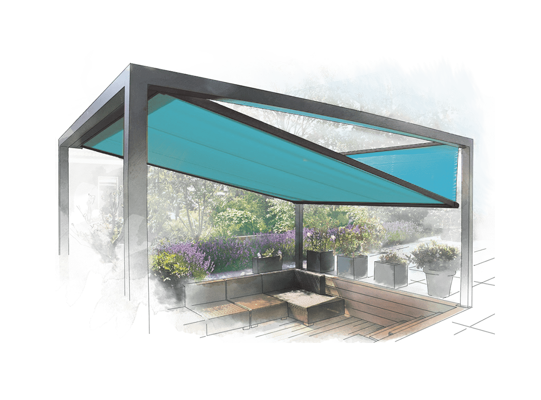 Baldachin Terrasse Pergola Sonnensegel Beautiful Pergola Gerst Sitrag With
