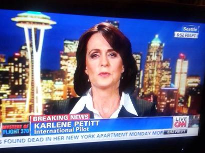 Karlene Petitt on CNN