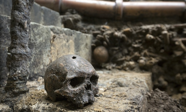 Medieval Remains found under Abbey Toilets