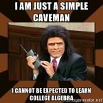 CavemanAlgebraRedux