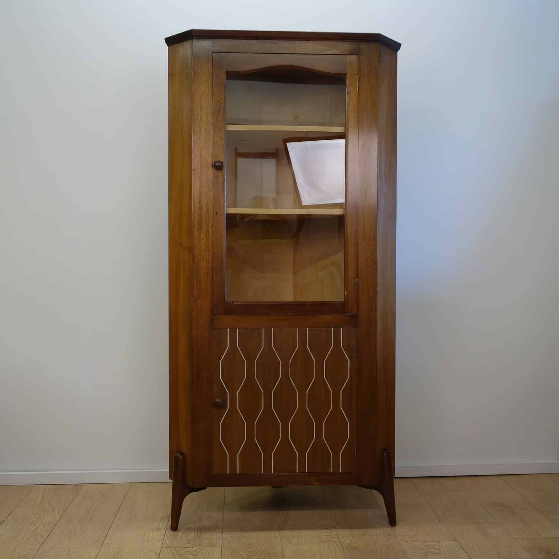 Doors Everest 1950s Corner Cabinet By Everest Mark Parrish Mid Century