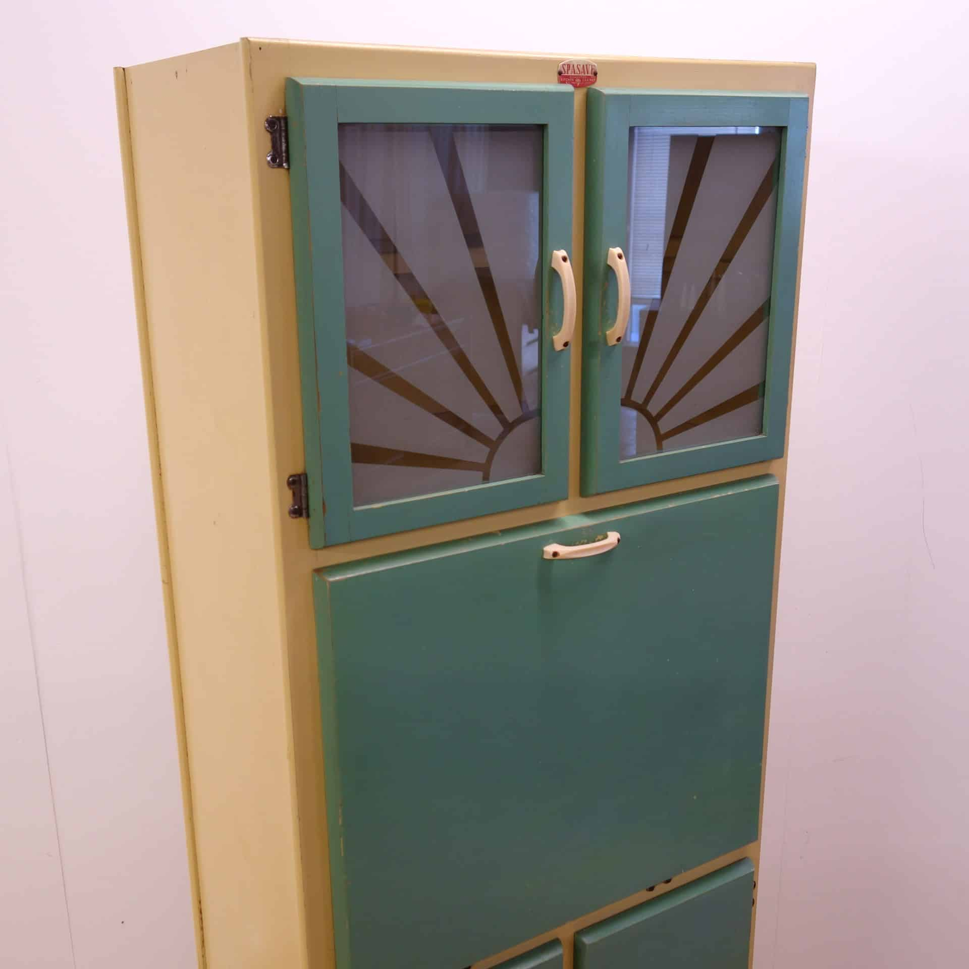 Painted 60s Kitchen Cabinets Free Standing 60s Kitchen Cabinet By Spasave Mark