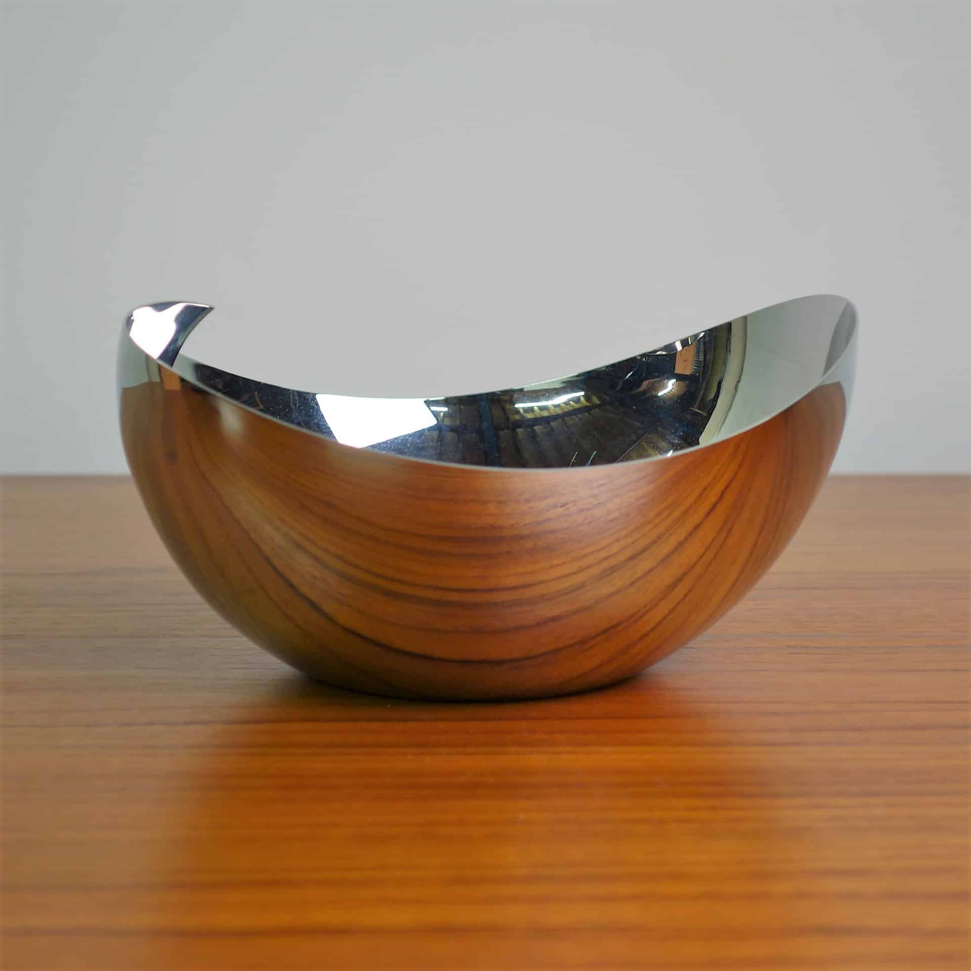 Metal Fruit Bowl Robert Welch Rushan Stainless Steel Fruit Bowl Mark
