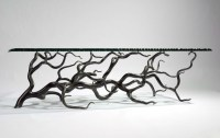 Branch Coffee Table (Rectangular) - Mark Reed Sculpture