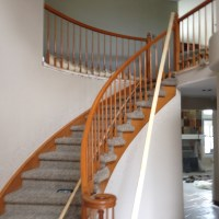Building a curve handrail
