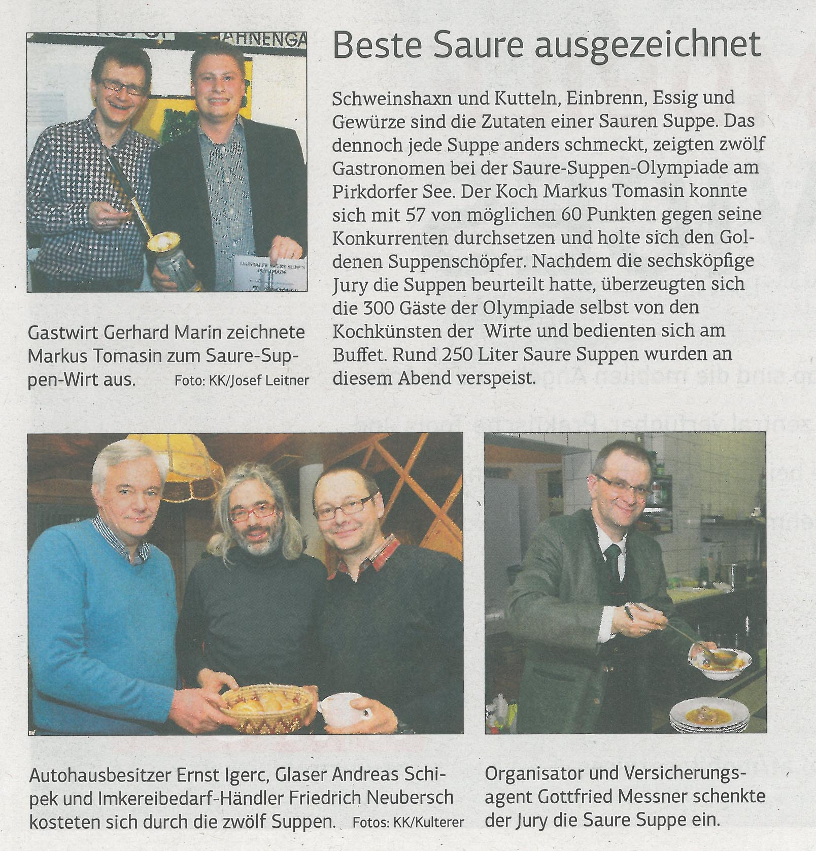Feine Küche Kulterer Gmbh Markus Tomasin Collection Catering Cooking Die Presse Markus