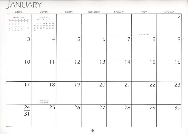 JANUARY CALENDAR PAGE Marges8\u0027s Blog - january calendar page