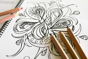 Outside Your Lines - a chakra coloring book
