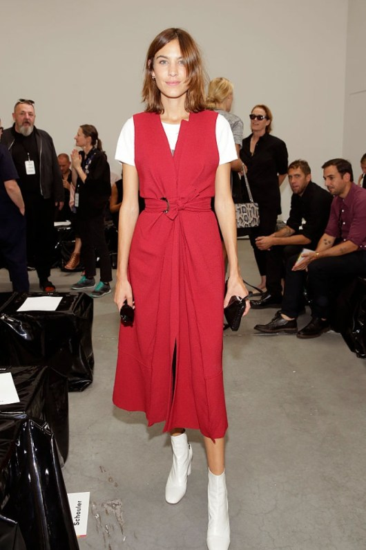 attends the Proenza Schouler fashion show during New York Fashion Week on September 12, 2016 in New York City.