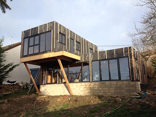 ile-de-france - Kits construction bois Autoconstruction bois en - Maison En Bois Autoconstruction