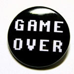 """Game Over"" button"