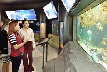 "SAR la Princesse Lalla Hasnaa visite le ""Vancouver Aquarium Marine Science Centre"""
