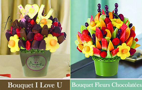 choix de bouquets assortis de fleurs fruits fra che ou chocolat 50 chez. Black Bedroom Furniture Sets. Home Design Ideas
