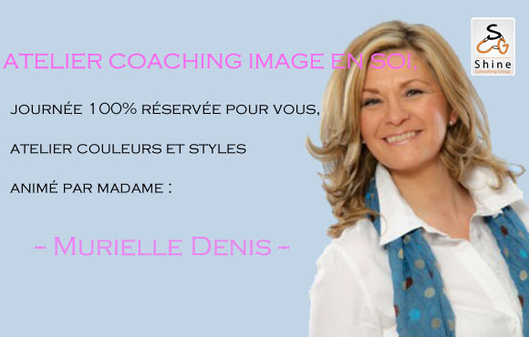 Mesdames: Atelier Coaching Image en Soi à seulement 1900dhs par Shine Consulting Group!