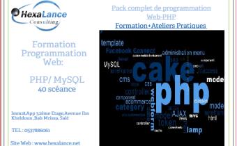 Formation  complète en Développement web PHP  chez Hexalance Consulting !