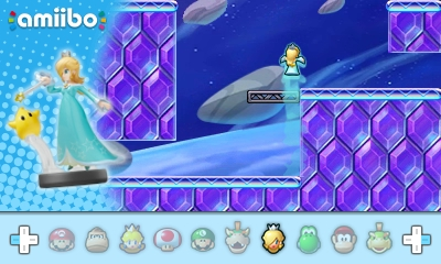 I'll probably never get to use Rosalina. . . in anything. . . She's illusive.